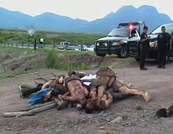 Oběti mexické drogové mafie