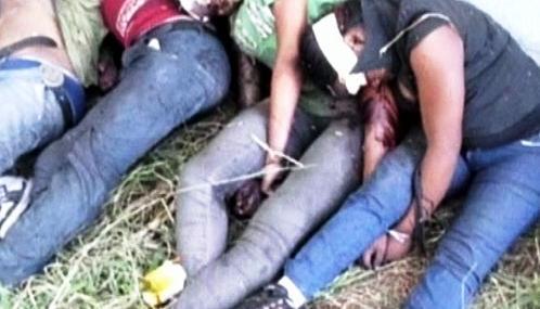 Oběti mexického drogového kartelu Zeta
