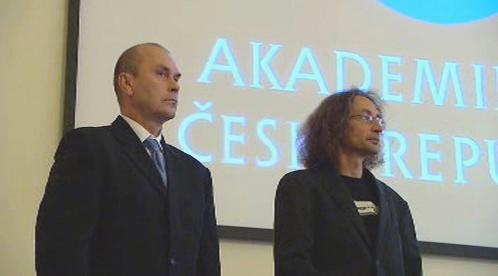 Petr Pyšek a Pavel Jungwirth