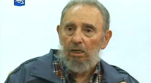 Fidel Castro se objevil v televizi