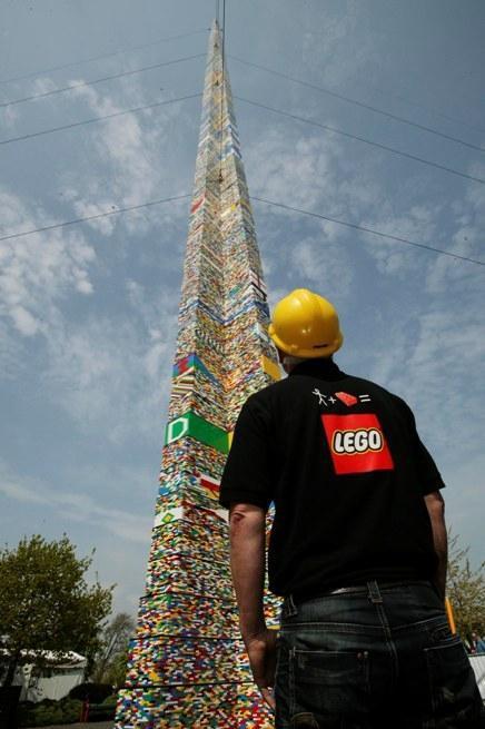 Nejvyšší stavba z Lega