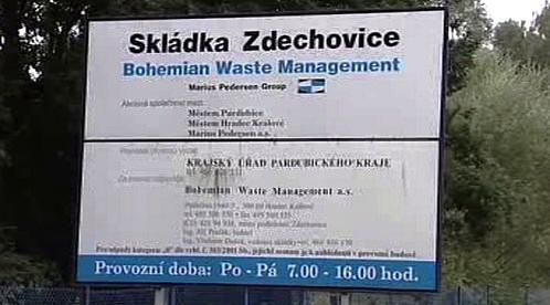 Skládka Zdechovice