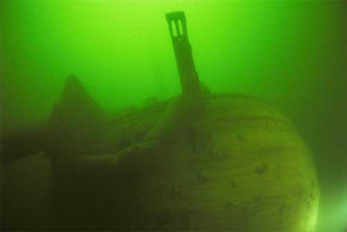 Potopená loď Frau Maria