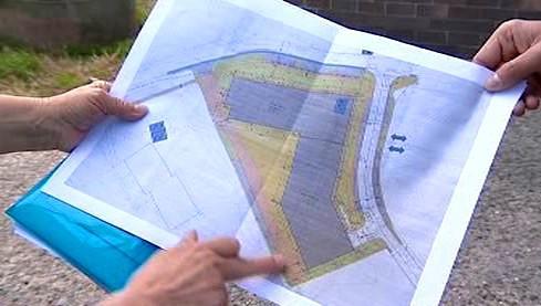 Plán výstavby obytného komplexu