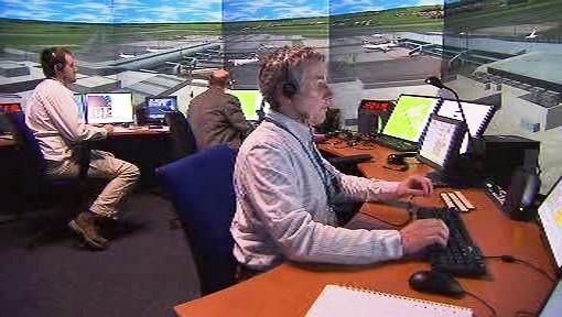 Trenažér řízení letového provozu