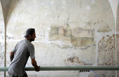 Fresky v Klementinu