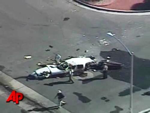 Havárie malého letadla v americkém Hendersonu