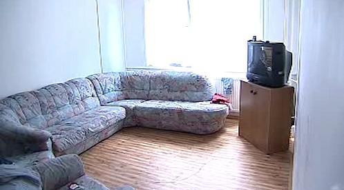 Zařízený pokoj v nové ubytovně