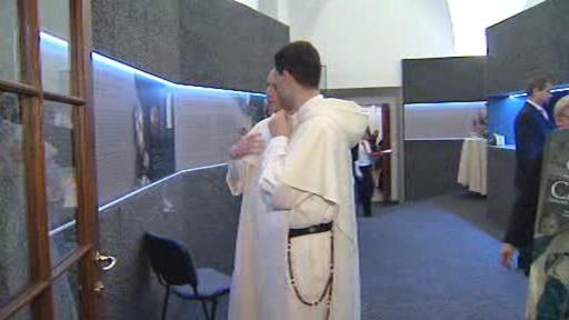 Výstava v dominikánském klášteře