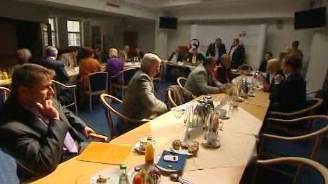 Jednání poslanců s hejtmanem