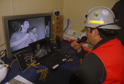 Videorozhovor s horníky
