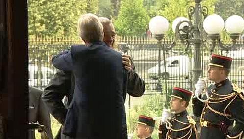 Karel Schwarzenberg a Bernard Kouchner