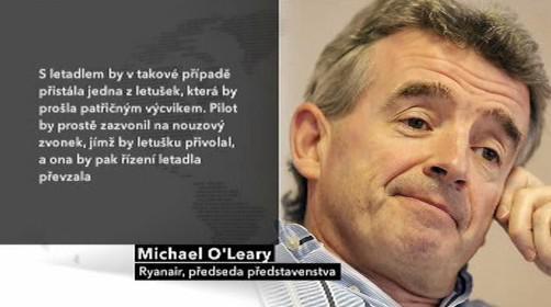 Michael O´Leary, šéf Ryanairu