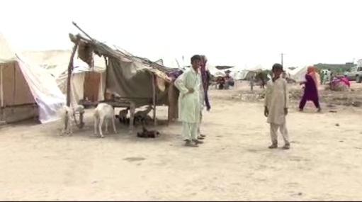 Provizorní tábory v Pákistánu