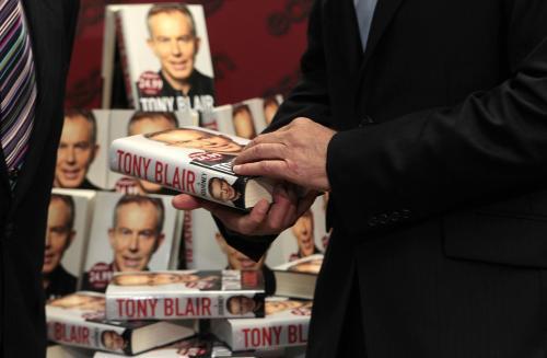Vydání nové knihy Tonyho Blaira