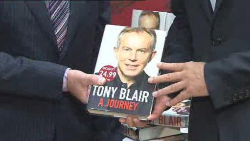 Kniha Tonyho Blaira