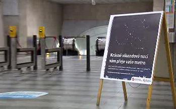 Prodloužený provoz metra