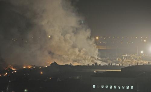 Nehoda letadla v Dubaji