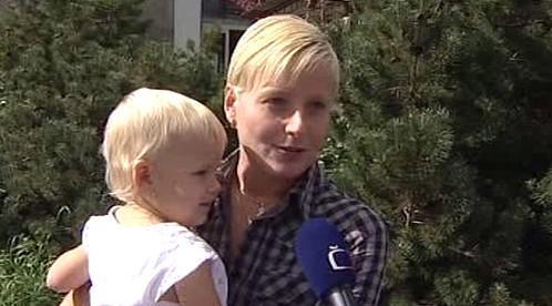 Alena Prokešová s dcerou Natálkou