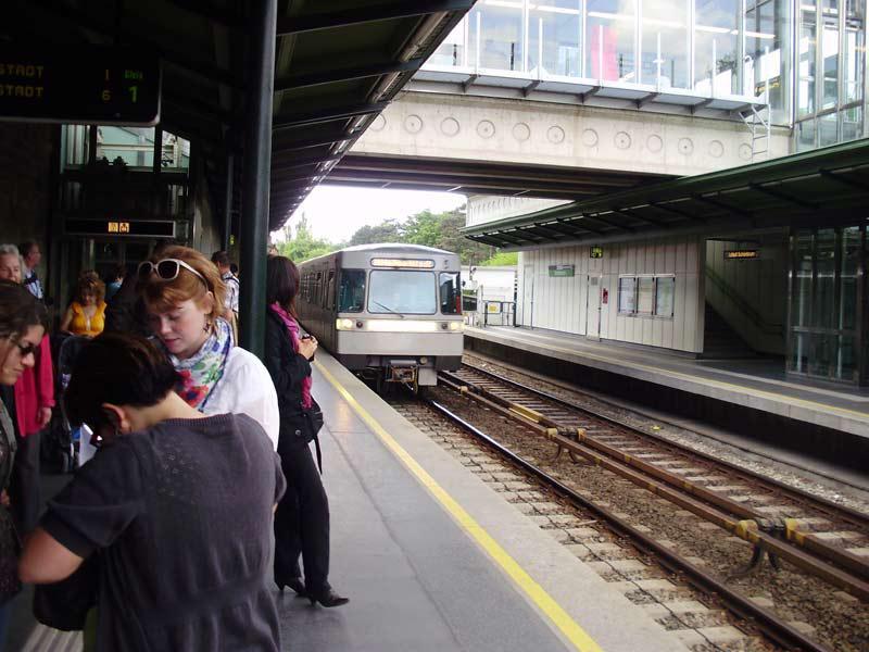 Stanice vídeňského metra