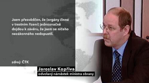 Vyjádření Jaroslava Kopřivy