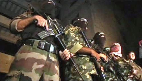 Členové palestinských militantních skupin