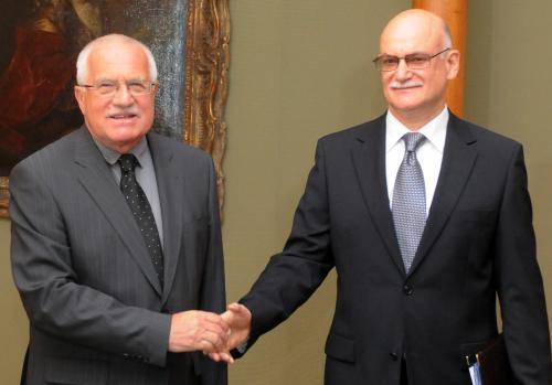 Václav Klaus a Alexej Fedotov