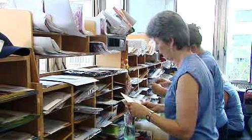 Třídění pošty