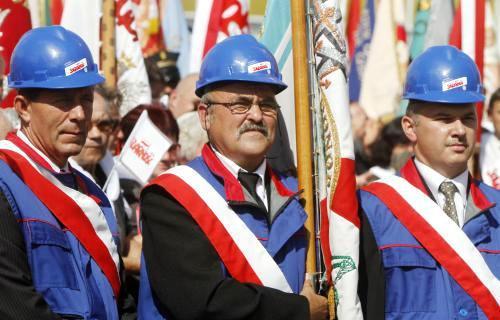 Oslavy výročí založení odborového hnutí Solidarita
