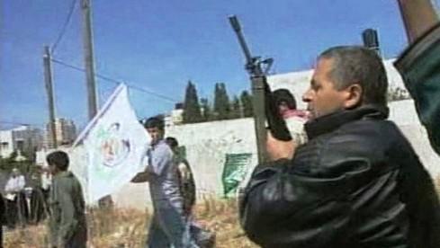 Příznivci hnutí Hamas