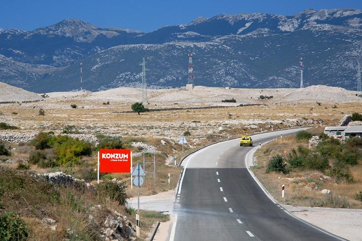 Chorvatská silnice