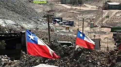 Důl v Chile