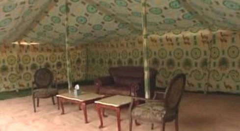 Kaddáfího stan