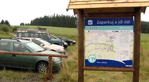 Parkoviště v projektu Zaparkuj a jdi dál