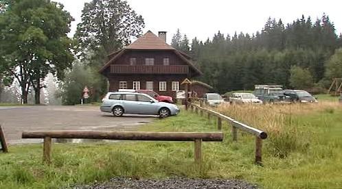 Parkoviště na Šumavě