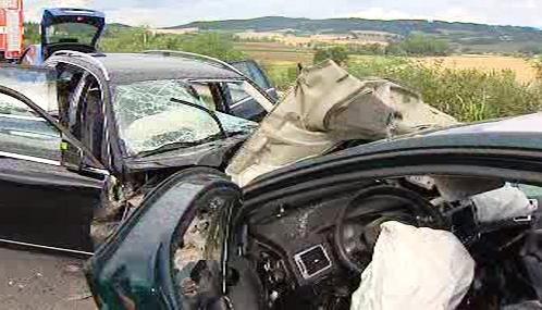 Tragická dopravní nehoda u Olbramovic