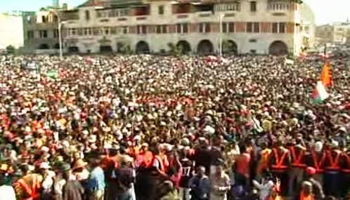 Demonstrace na Madagaskaru