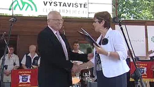 Václav Klaus zahajuje 36. ročník výstavy Země živitelka