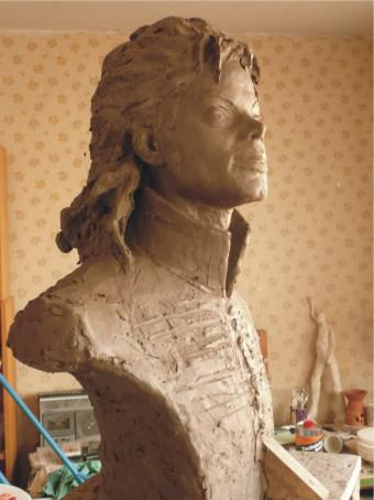 Návrh pomníku Michaela Jacksona na Letné