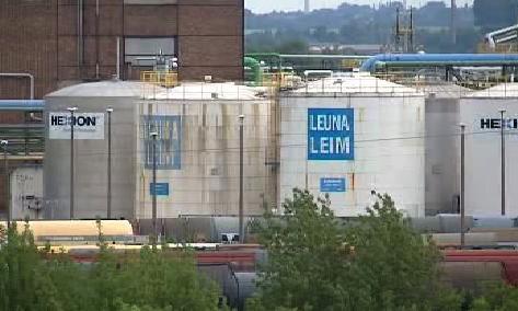 Chemička v Leuně