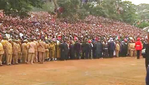 Keňané slaví přijetí nové ústavy