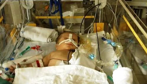 Novorozenec v nemocnici