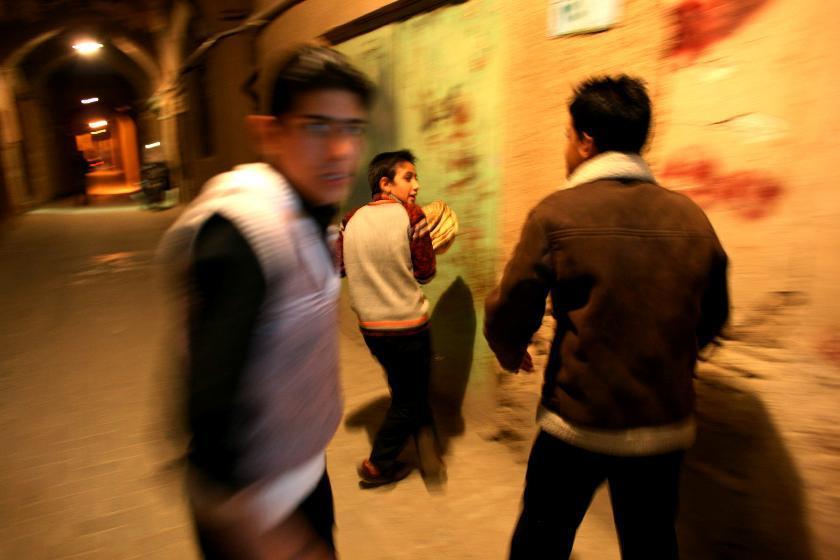 Děti ulice v Íránu
