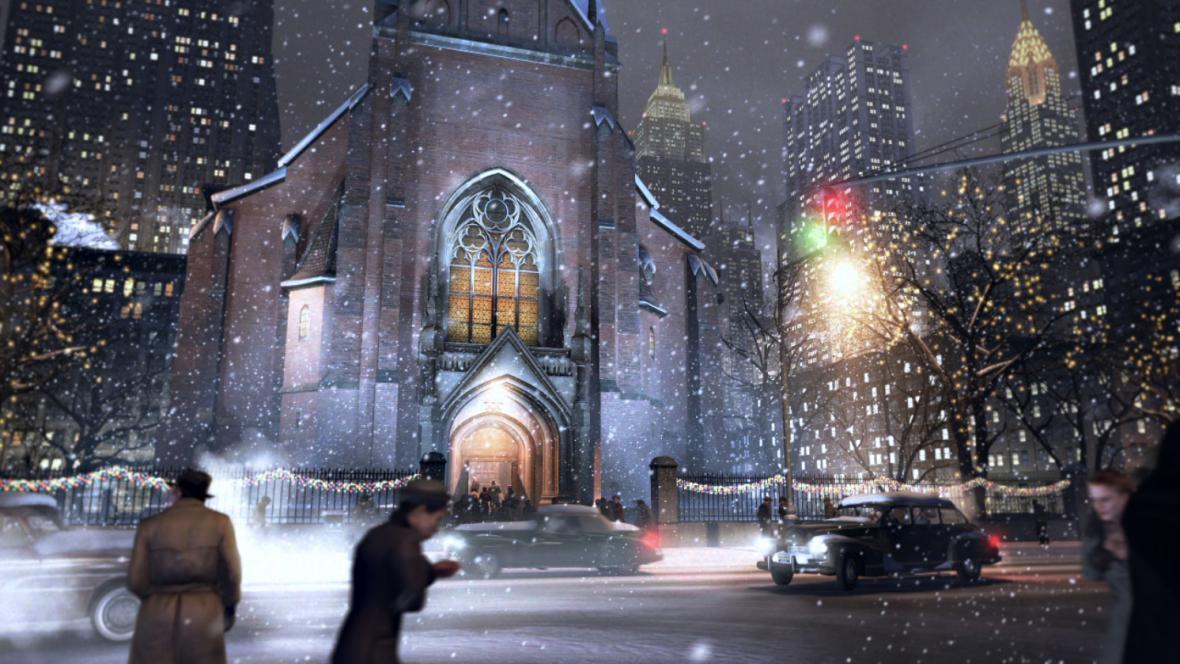 Zimní počasí v Mafia 2