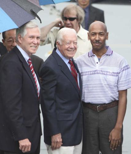 Jimmy Carter a Aijalon Mahli Gomes