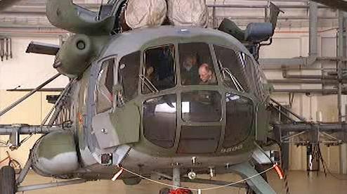 Armádní vrtulník