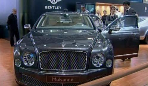 Luxusní Bentley