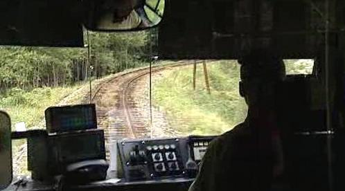 Jízda po regionální trati