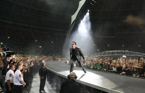 Koncert U2 v Moskvě