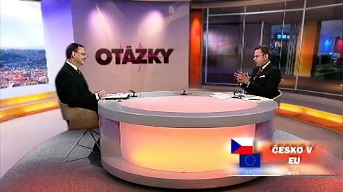 Otázky Václava Moravce s Petrem Nečasem